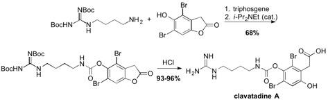 Clavatadine A